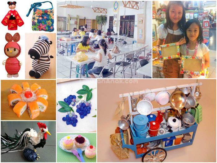 Crayon's Craft & Co - Kids Holiday Spots - Liburan Anak - Informasi & Event Liburan Keluarga Address :Jl. Aceh No. 15 (Kebon Sirih) Bandung- Jawa Barat Phone :(022) 4201043 Opening hours :09.00 - 17.30 WIB