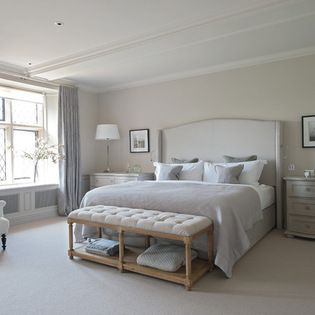 Cotswold Manor House - farmhouse - Bedroom - South West - Sims Hilditch