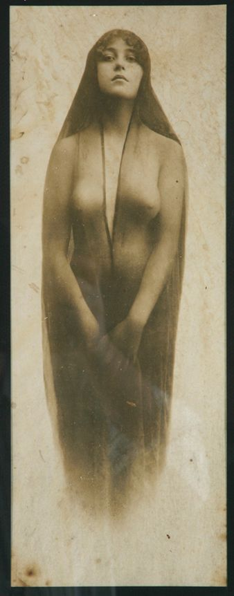 Photograph taken in Tombstone, Arizona of 19-year-old Josephine Sarah Marcus Earp, Wyatt Earp's wife