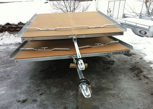 Beau Fabricant Skidoo Trailer Dealers Laval Montreal West-Island Laurentides Monteregie for sale cheaper