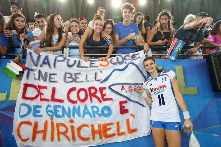 Cristina Chirichella, il centrale della nostra Nazionale.