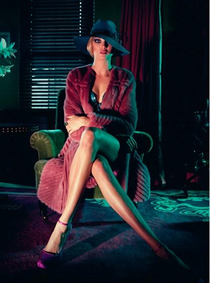 Diana Moldovan@ IMG models  Photographer Karine Basilio  Styling: Diana Andreea  Hair: Greg Bitterman  Makeup: Sergey Logvinov