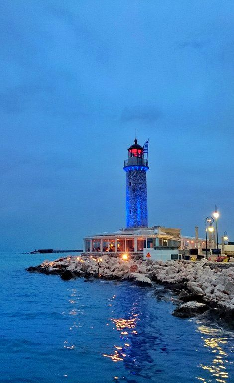 Lighthouse....stormy sunset..!!! Patra City, Greece | Flickr - Photo Sharing! flickr by instructor1975