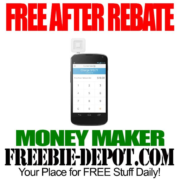 FREE AFTER REBATE - Square Reader - FREE Smartphone Credit Card Reader - Money Maker  #freebate