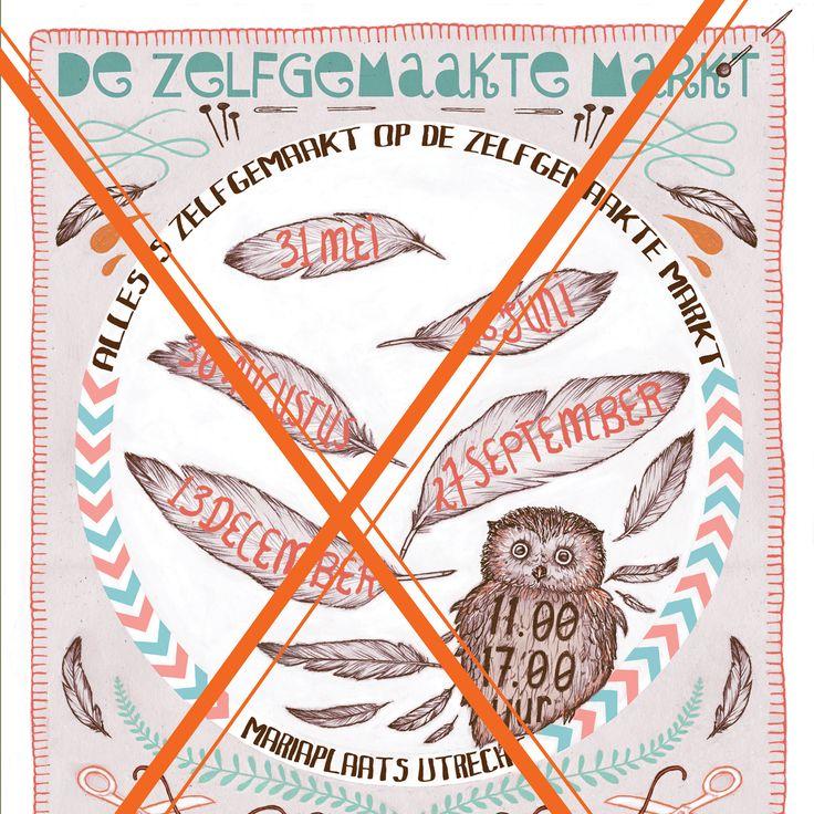 Op zoek naar het mooiste ontwerp voor de posters en flyers voor de Zelfgemaakte Markt 2015. De ontwerpwebstrijd!  De prijs? €150 en een stapel posters en stickers.  Lees hier alles: http://zelfgemaaktemarkt.nl/ontwerpwebstrijd/