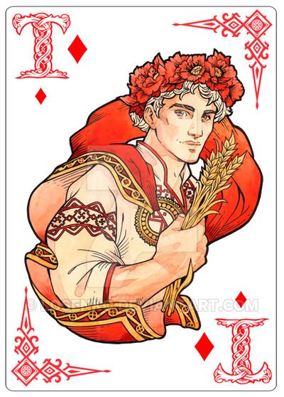 - Ace of diamonds - Yarilo - by Losenko.deviantart.com on @DeviantArt