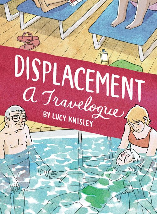 The newest book from New York Time's Bestselling author, Lucy Knisley. Displacement is a lovely graphic novel memoir that follows Lucy as she cares for her aging grandparents on a cruise. http://www.fantagraphics.com/browse-shop/displacement-4.html