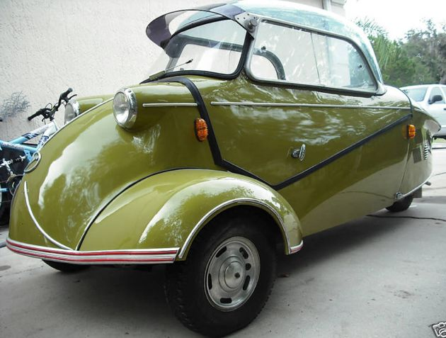 Sold Messerschmitt Kr200 3 Wheeler Microcar Auctions: 177 Best Images About Messerschmitt Is A CAR