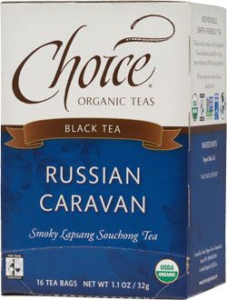 Choice Organic Teas Russian Caravan | FREE Shipping on Orders Over $49 | Explore the exotic with this distinctively smoky tea — a taste cove...
