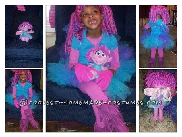 Cutest Abby Cadabby Homemade Costume for a Girl...