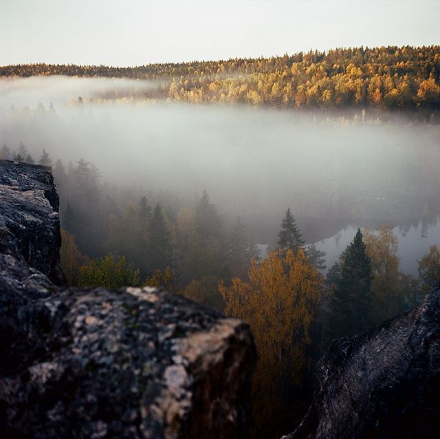 Sunrise in Karelia by finsky, via Flickr