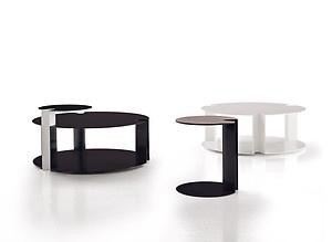 Replica Nix side table--powder coated metal table