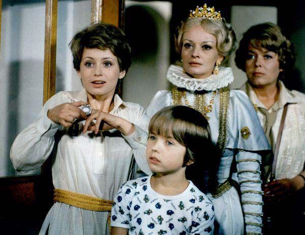 """""""Arabella und der Zauberer"""" (Ost) oder """"Die Märchenbraut"""" (West), tschechische TV-Serie"""
