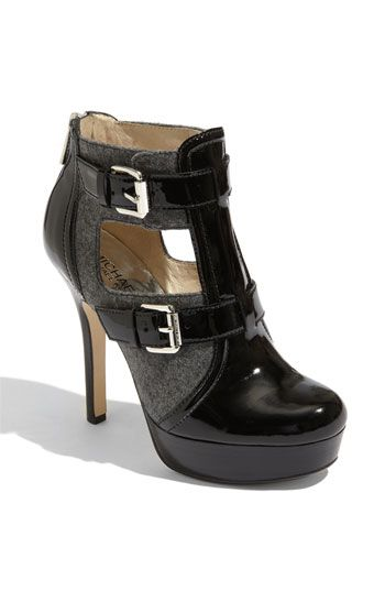 MICHAEL Michael Kors 'Sophia' Bootie #Nordstrom......I'm not sure where I'm wearing them, but I love 'em