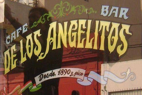Café de los Angelitos. Cafes con encanto. Buenos Aires