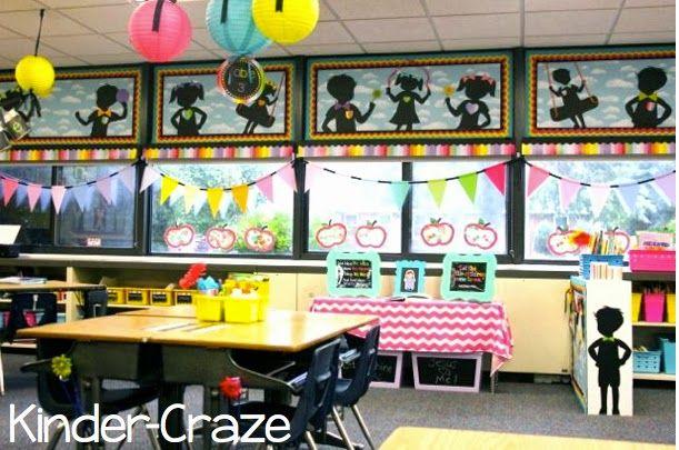 Rainbow Chalkboard Classroom Decor And Theme By Schoolgirl