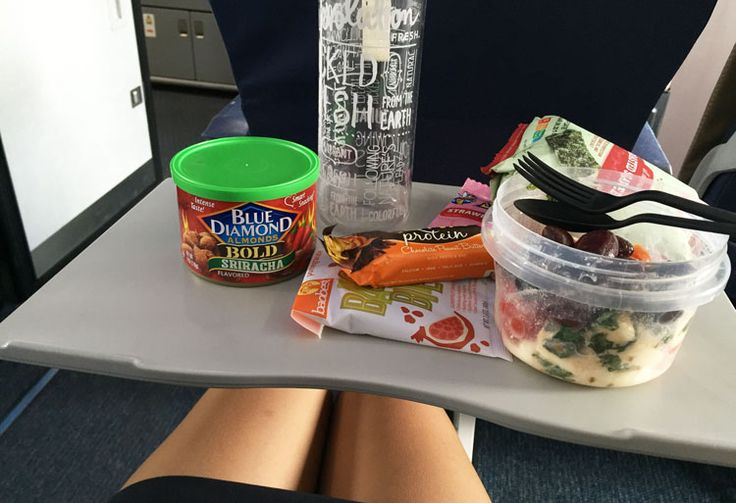 How to Eat Healthy When Flying  Tips from a Flight Attendant = apparently a food bag doesn't count toward your carry-on luggage allowance?!