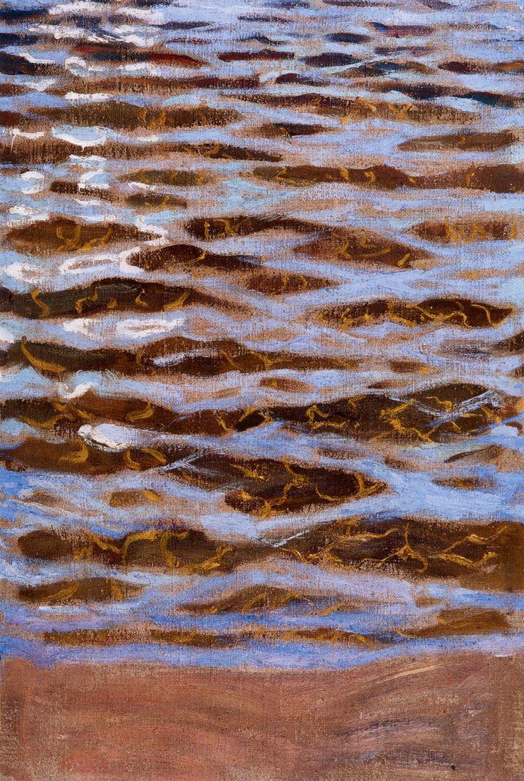 The Athenaeum - Waves (Akseli Gallen-Kallela - 1893)..a painting