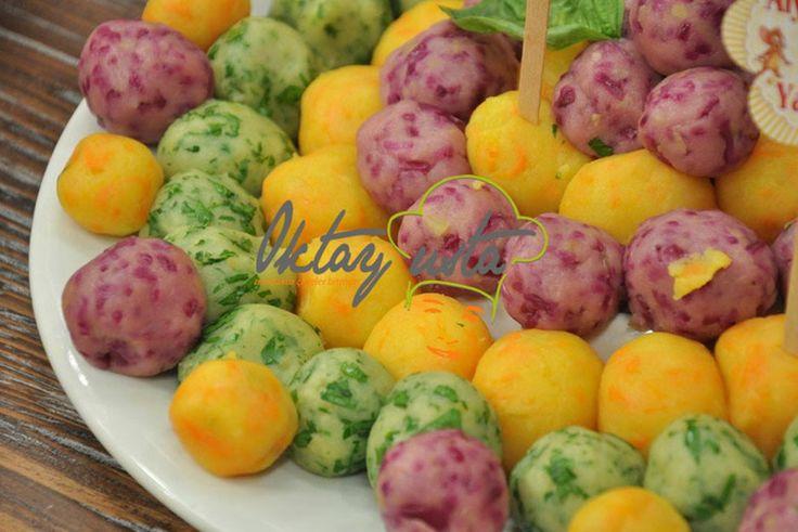 3 Renkli Patates Toplar Tarifi | Oktay Usta Salata Tarifleri