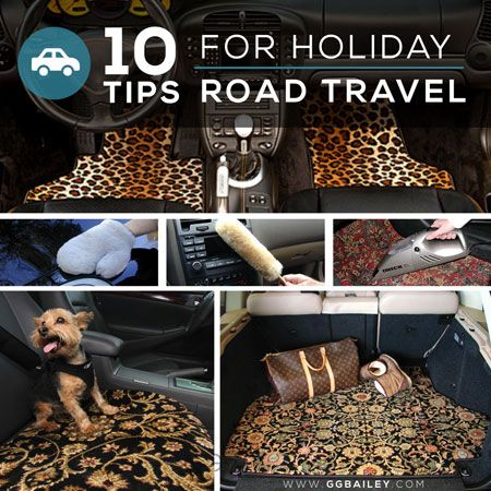 10 Tips for Holiday #Travel: How to Prepare for #Winter #RoadTrips with Safety and #Style