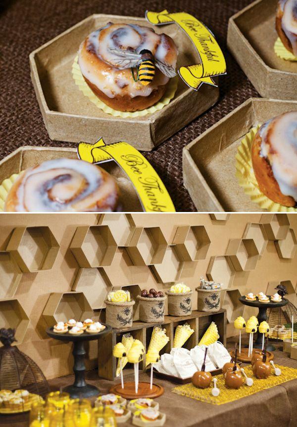 Bee Thankful Themed Thanksgiving Kettle CornBee ThemeBee PartyBumble