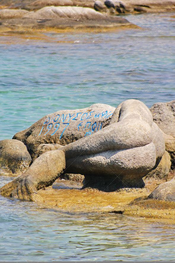 Mermaid at Kavourotripes Beach