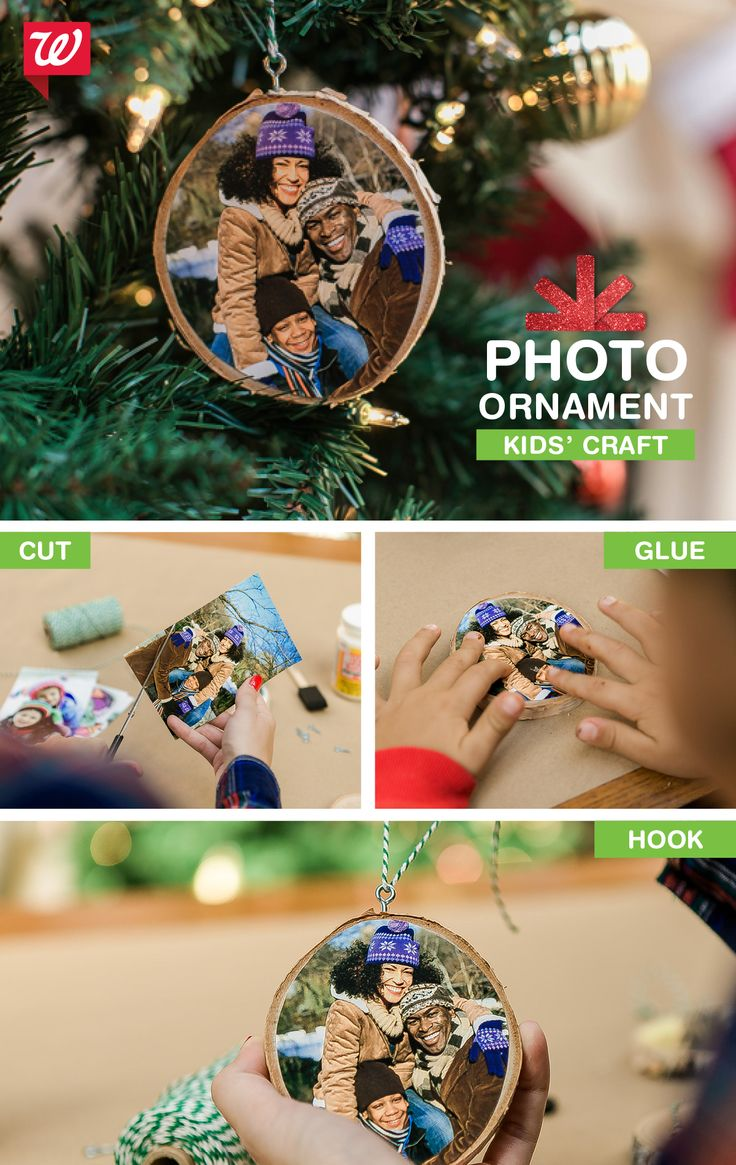 Ideal for giving to parents and grandparents, this DIY photo ornament is easy for kids to create. Check out the tutorial on our Smile blog.