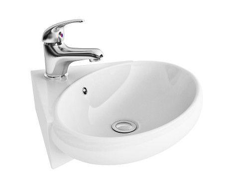 Cannes Wall Hung Corner Basin. Best 25  Corner basin ideas on Pinterest   Bathroom corner basins