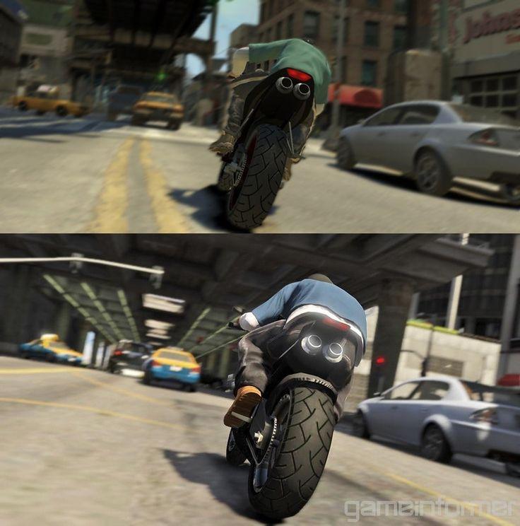 One Of The Best Screenshot Comparisons I've Ever Seen: GTA
