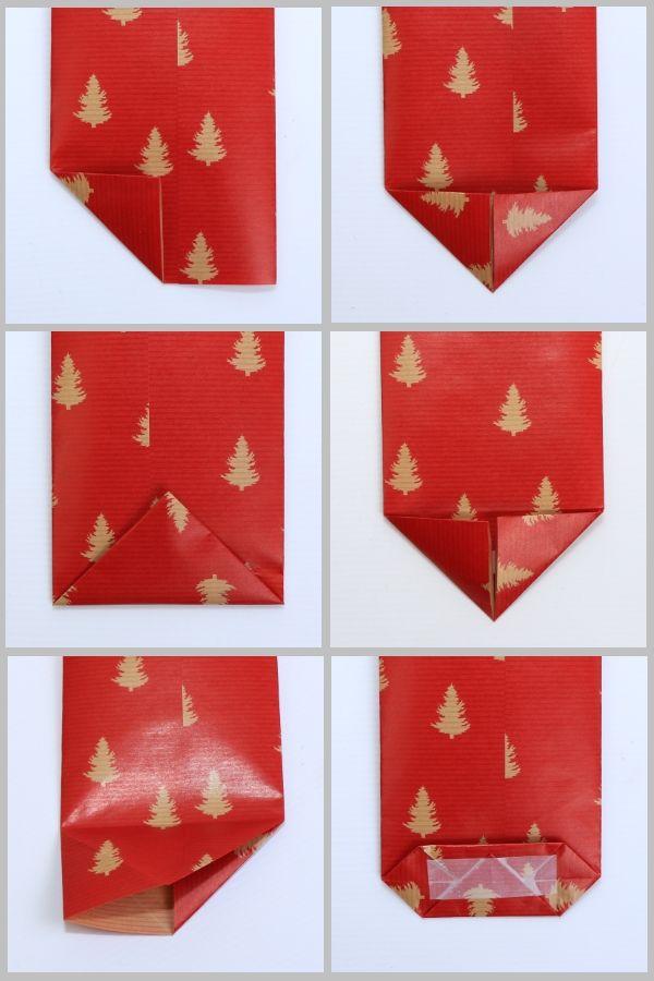 Tüten aus Geschenkpapier