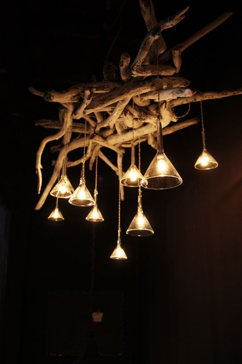 17 Best images about wood lights – Driftwood Chandelier