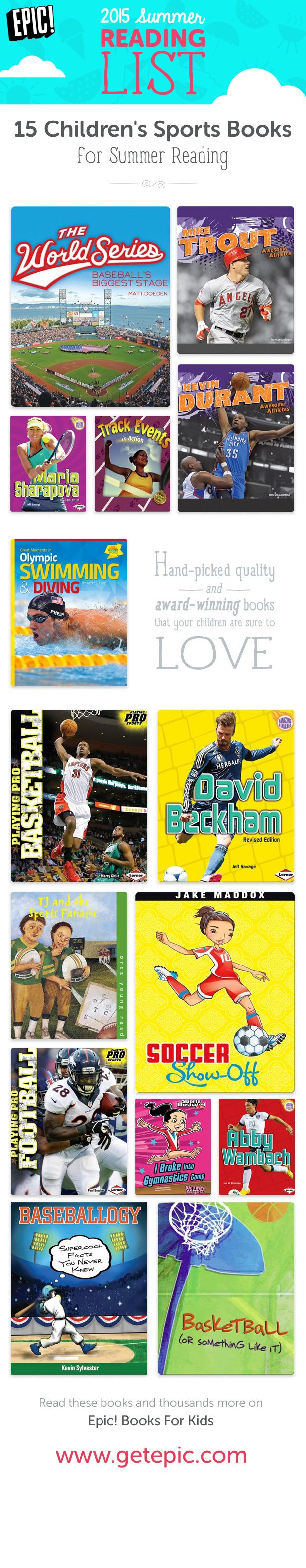 Check Out 15 Of Our Favorite Sportsrelated Summer Reading Books! You Can  Find