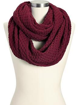 Women's Sweater-Knit Infinity Scarves | Old Navy