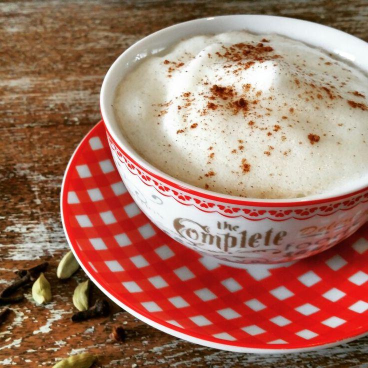 Heerlijk nieuw recept. Chai Latte! Kijk op www.hetproefhuis.nl  #proefhuis
