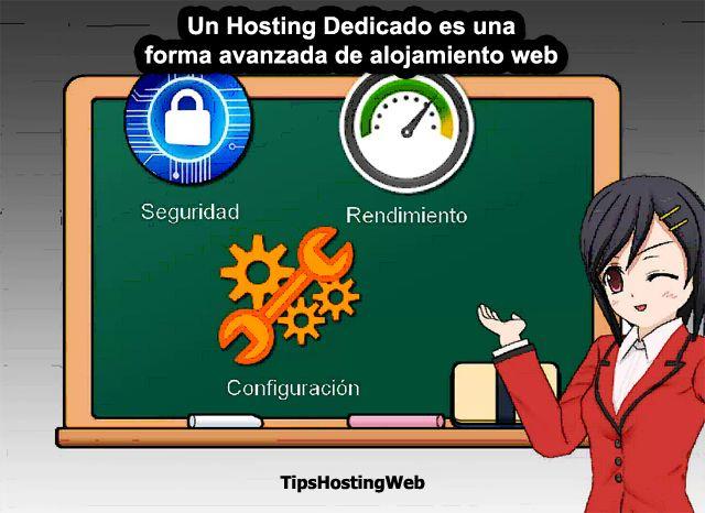 """Un Hosting Dedicado es una forma avanzada de alojamiento web. Si un cliente necesita de requerimientos especiales en cuanto a seguridad, rendimiento y configuración, con un """"Hosting Dedicado"""" ustes estará en capacidad de abastecer tal demanda."""