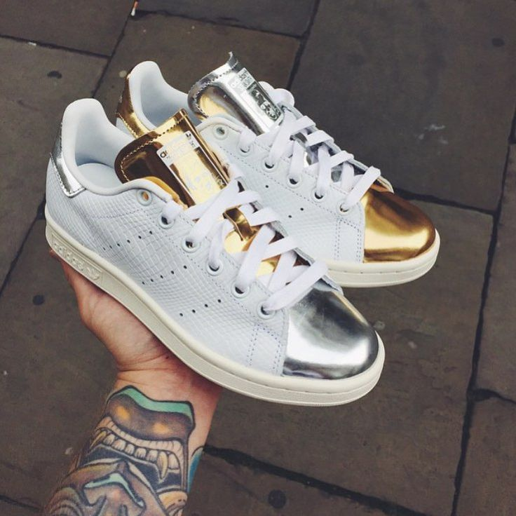 Gold & Silver Stan Smith