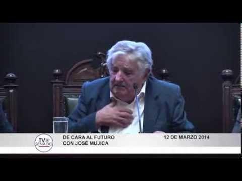 Marzo 2014 - Intervención del Presidente Mujica en el senado chileno, al ser condecorado en Chile - YouTube
