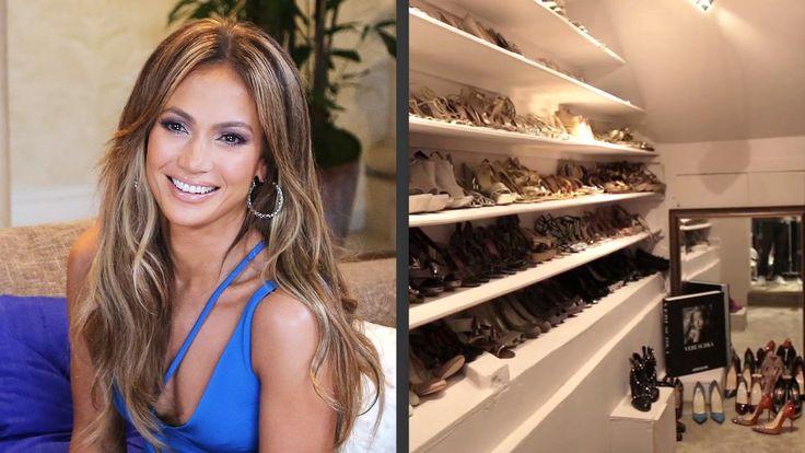 Mira los clósets de Kim Kardashian, Jennifer Lopez, Paris ...