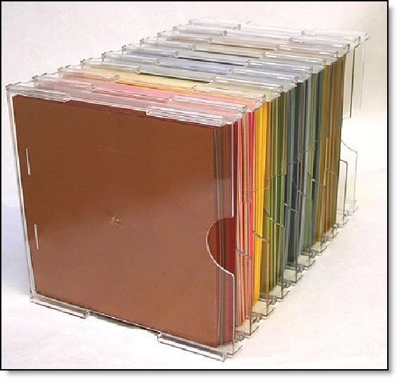 storage for 12x12 paper scrapbooking storage ideas pinterest. Black Bedroom Furniture Sets. Home Design Ideas
