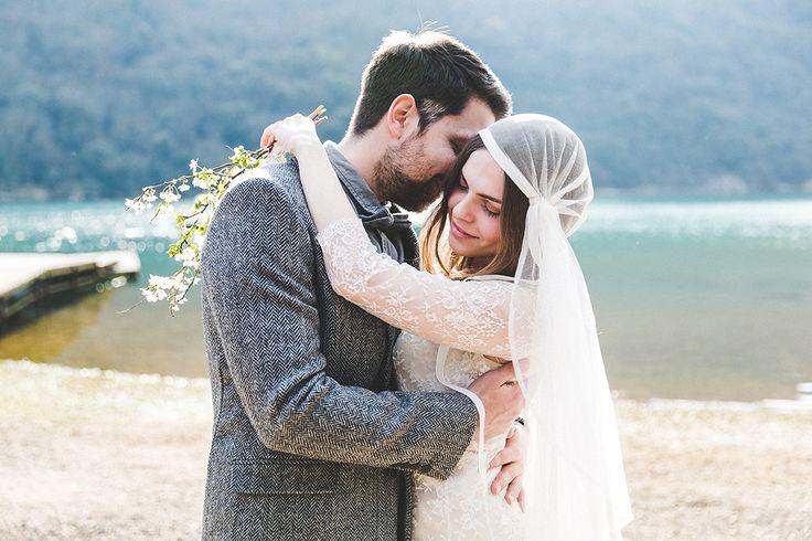 Bridal Photo Session | Coastal Wedding | Limski Channel/Croatia | Dress by: elfenkleid  www.ilkahofmann.de
