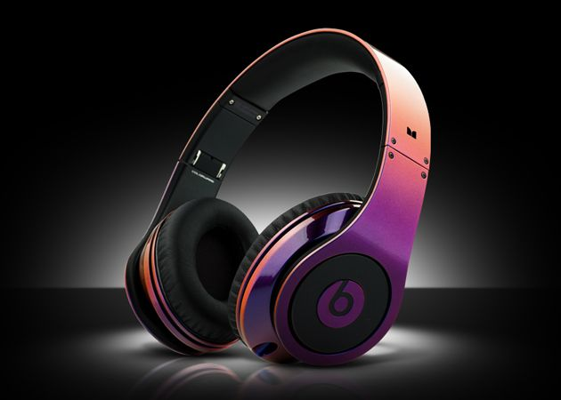 Multi Coloured Illusion Beats by Dre Headphones by ColorWare