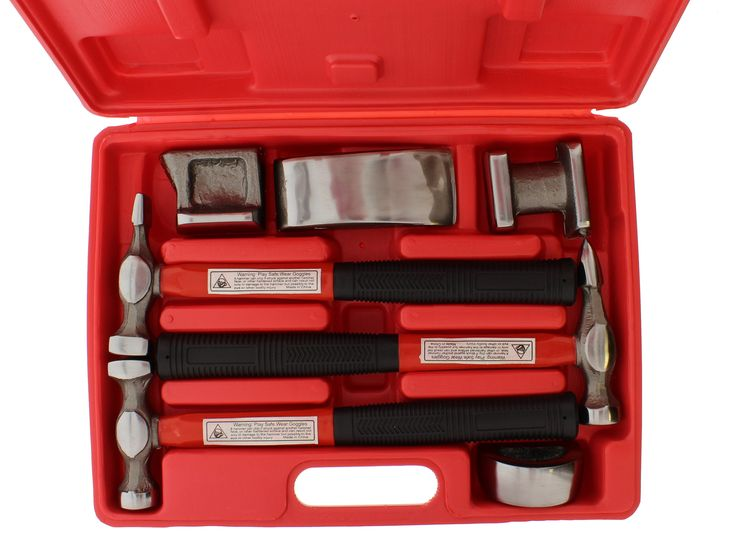 ABN 7 Piece Auto Body Shaping and Forming Repair Kit Tool Set