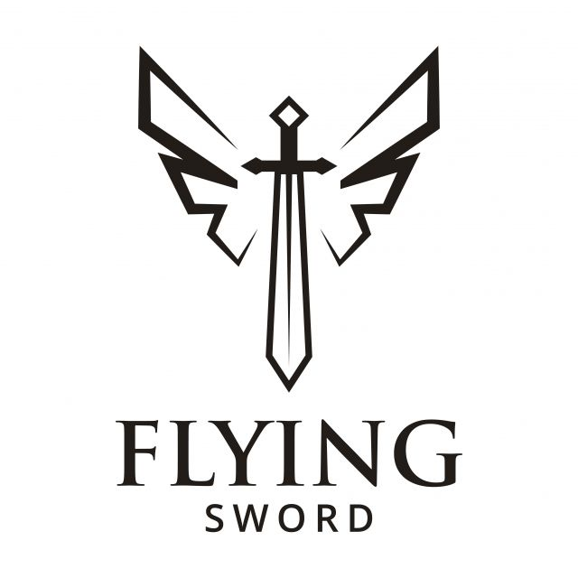 Flying Sword Logo Design Inspiration Logo Icons Inspiration Icons Logo Png And Vector With Transparent Background For Free Download Sword Logo Logo Design Logo Design Inspiration