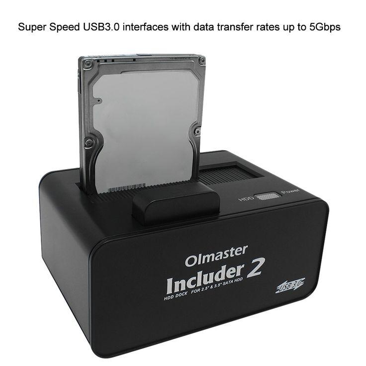 OImaster USB 3.0 HDD Enclosure Docking Station Hard Disk Drive Sales Online - Tomtop.com