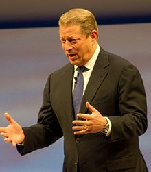 "Albert Arnold ""Al"" Gore, Jr. (born March 31, 1948) is an American politician, advocate and philanthropist, who served as the 45th Vice President of the United States (1993–2001), under President Bill Clinton. He was the Democratic Party's nominee for President and lost the 2000 U.S. presidential election despite winning the popular vote. Gore is currently an author and environmental activist...."