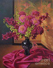 Fiona Craig - Dahlias and Orchids on...