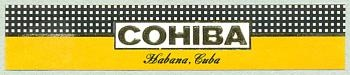 Cohiba cigars band