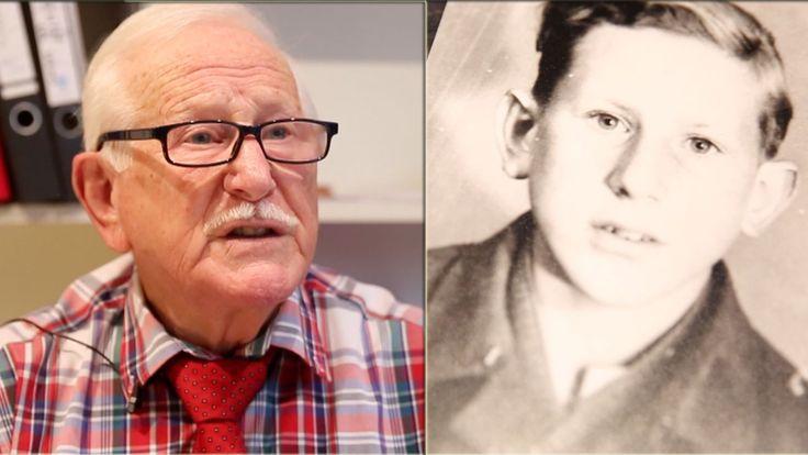 Mit knapp 16 Jahren wurde Lothar Scholz  während des NS-Regimes als Flakhelfer in den Krieg eingezogen.