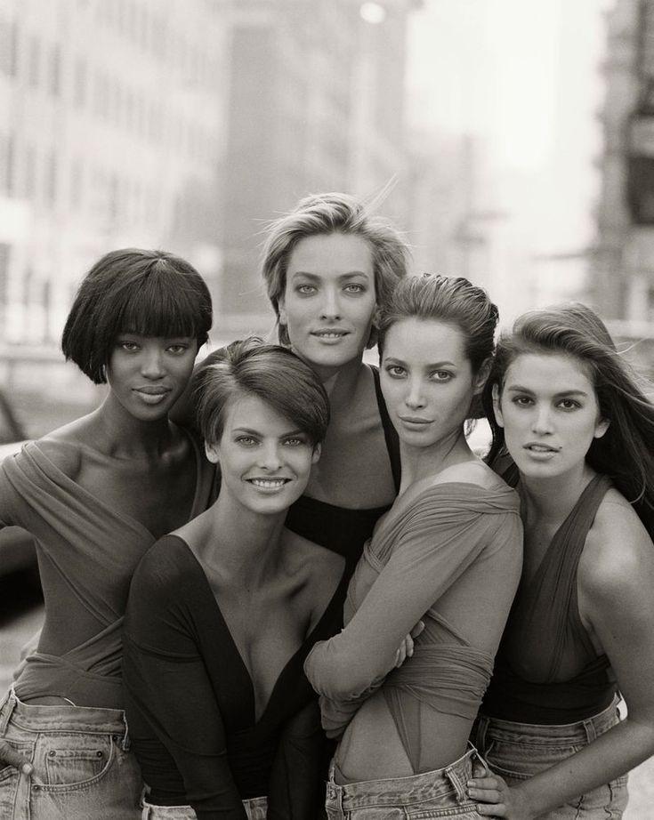 The original supermodels.
