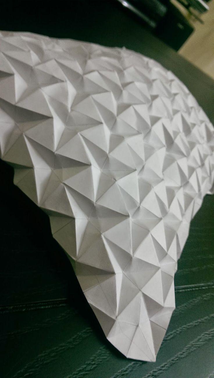 170 besten origami textures Bilder auf Pinterest | Kirigami, Papier ...